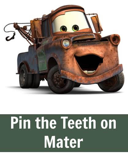 TOTS Family, Parenting, Kids, Food, Crafts, DIY and Travel Pin-The-Mouth-On-Mater-Poster Disney CARS Party Ideas: Pin The Mouth On Mater #DisneySide Crafts Kids TOTS Family Uncategorized  party planning party mater lightening mcqueen disneyside Disney Cars disney cars birthday party activities