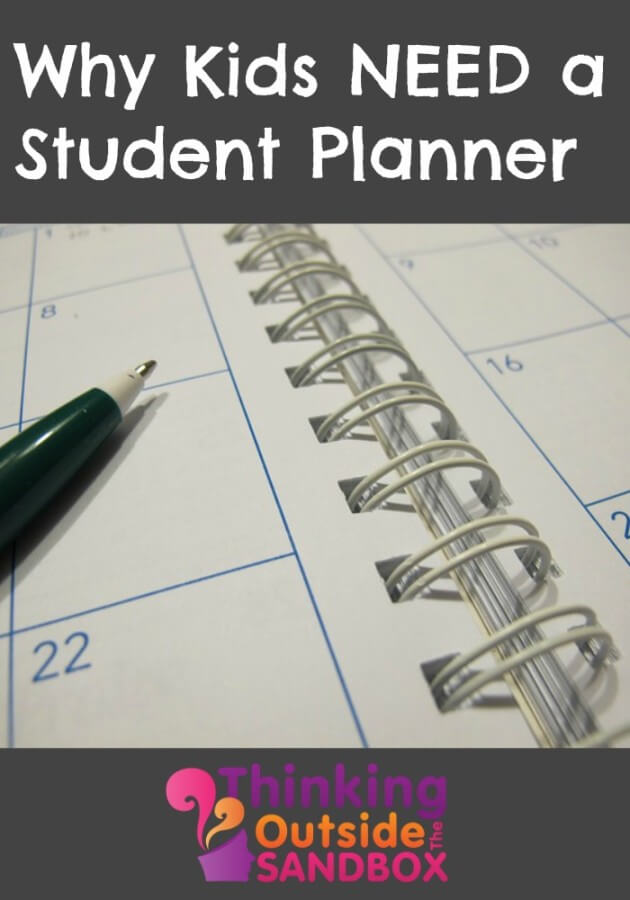 TOTS Family, Parenting, Kids, Food, Crafts, DIY and Travel Why-Kids-Need-a-Student-Planner Why Kids Need a Student Planner Kids Parenting TOTS Family