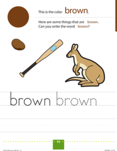 TOTS Family, Parenting, Kids, Food, Crafts, DIY and Travel brown-color-colors-fine-motor-232x300 Color My World Series #9 ~ Brown. Introducing the Color Brown into Daily Activities Kids Learning