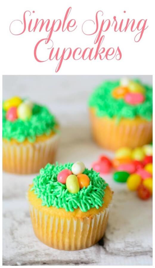TOTS Family, Parenting, Kids, Food, Crafts, DIY and Travel 11088524_10153258206278092_81296520_o Simple Spring Cupcakes Desserts Food Holiday Treats Miscellaneous Recipes TOTS Family  spring food Easter Treats easter cupcakes
