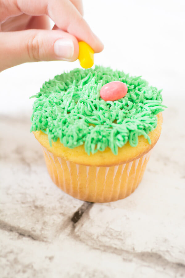 TOTS Family, Parenting, Kids, Food, Crafts, DIY and Travel Cupcake-2591 Simple Spring Cupcakes Desserts Food Holiday Treats Miscellaneous Recipes TOTS Family  spring food Easter Treats easter cupcakes