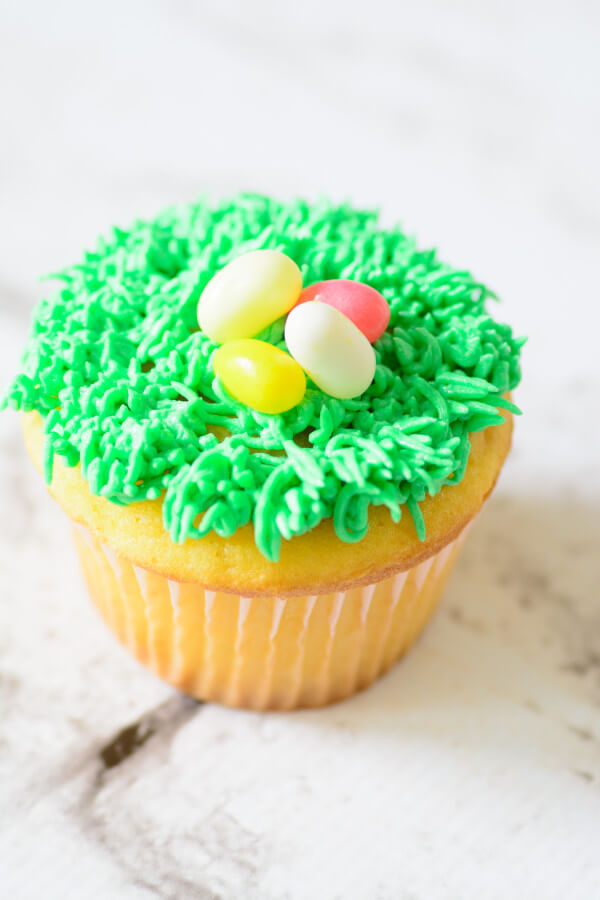 TOTS Family, Parenting, Kids, Food, Crafts, DIY and Travel Cupcake-2592 Simple Spring Cupcakes Desserts Food Holiday Treats Miscellaneous Recipes TOTS Family  spring food Easter Treats easter cupcakes