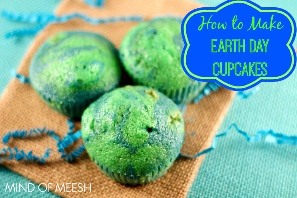 TOTS Family, Parenting, Kids, Food, Crafts, DIY and Travel Earth-Day-Cupcakes-Featured 12 Earth Day Kids Activities Food Kids TOTS Family  kids activities holiday games earth day crafts