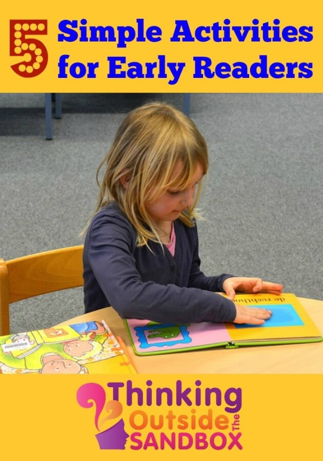 TOTS Family, Parenting, Kids, Food, Crafts, DIY and Travel Five-Simple-Activities-for-Early-Readers 5 Simple Activities for Early Readers Kids Learning TOTS Family  Early Readers
