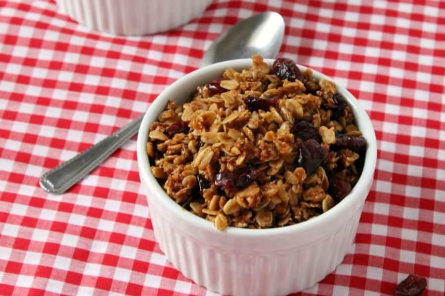 Cranberry Almond Granola | TOTS
