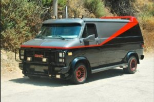 The A Team Van replica
