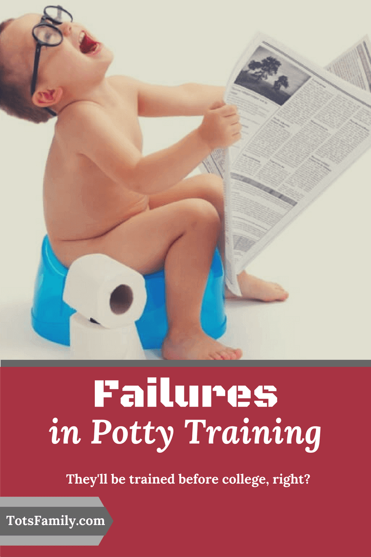 Potty training can be a huge challenge and just when you think you've got it beat, along comes the next kid with a totally different approach.
