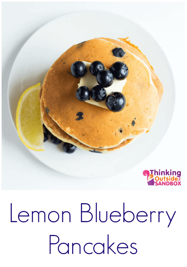 TOTS Family, Parenting, Kids, Food, Crafts, DIY and Travel Lemon-Pancakes-TOTS Lemon Blueberry Pancakes Breakfast Food Miscellaneous Recipes TOTS Family Uncategorized  pancakes breakfast blueberries