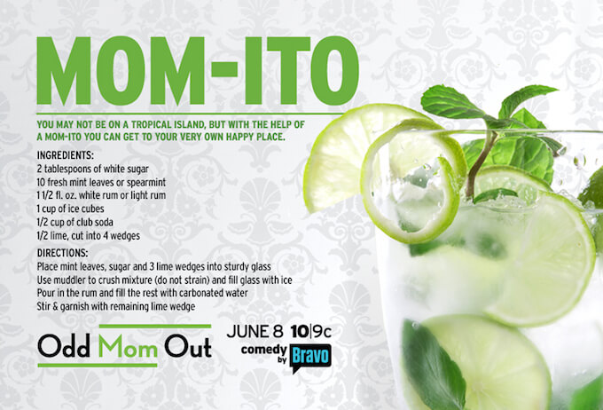TOTS Family, Parenting, Kids, Food, Crafts, DIY and Travel momito Just For Mom - Odd Mom Out - Must See TV Home TOTS Family  Odd Mom Out Bravo