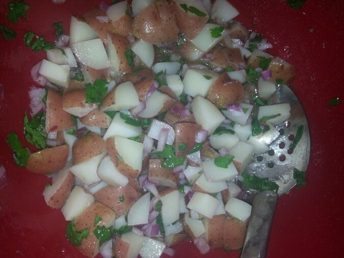 TOTS Family, Parenting, Kids, Food, Crafts, DIY and Travel 20130814_2330581 Red Skin Potato Salad Recipe Breads/Soups/Salads Food TOTS Family  red skin potato salad recipe potato salad