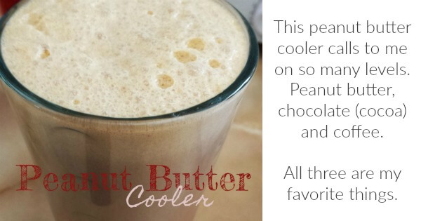TOTS Family, Parenting, Kids, Food, Crafts, DIY and Travel Peanut-Butter-Cooler-Recipe Peanut Butter Cooler Recipe Desserts Drinks Food Miscellaneous Recipes TOTS Family  snack smoothie peanut butter milk lunch drink coffee blender
