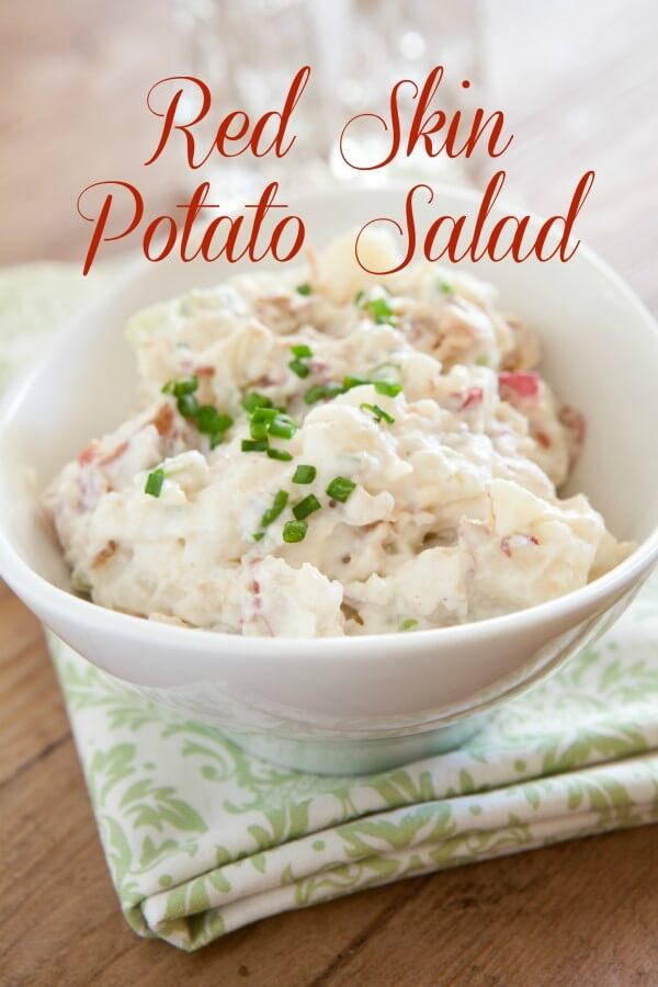 TOTS Family, Parenting, Kids, Food, Crafts, DIY and Travel Red-Skin-Potato-Salad Red Skin Potato Salad Recipe Breads/Soups/Salads Food TOTS Family  red skin potato salad recipe potato salad