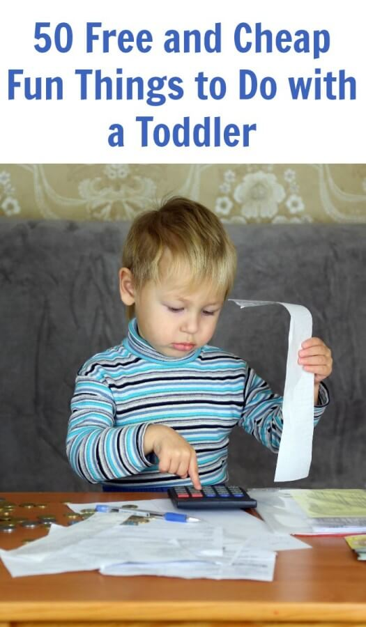 50 Free and Cheap Fun Things to Do with a Toddler