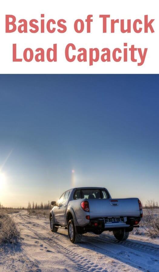 Basics of Truck Load Capacity