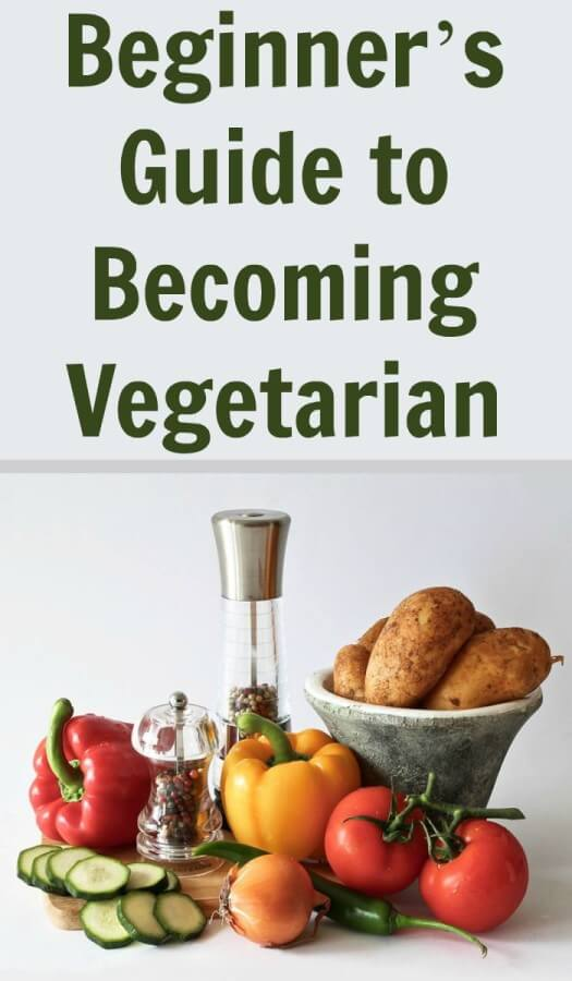 Becoming Vegetarian doesn't have to be so difficult or frightening