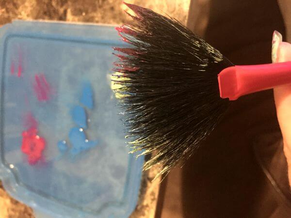 Easy Paint Splatter Nail Polish Tutorial - Fan Brush