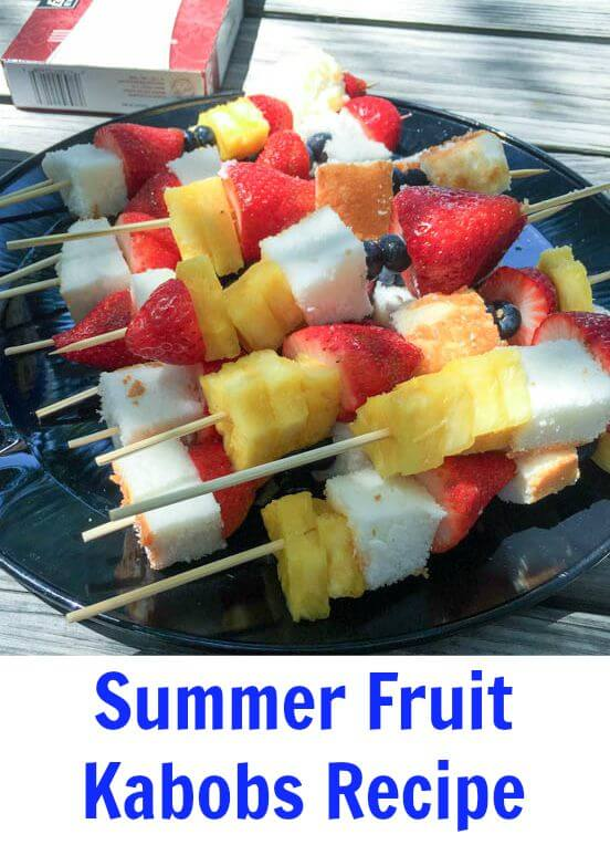 TOTS Family, Parenting, Kids, Food, Crafts, DIY and Travel Summer-Fruit-Kabobs-1-2 Fun Summer Fruit Kabobs Desserts Food TOTS Family  Summertime summer recipe Pool parties fruit food easy recipe