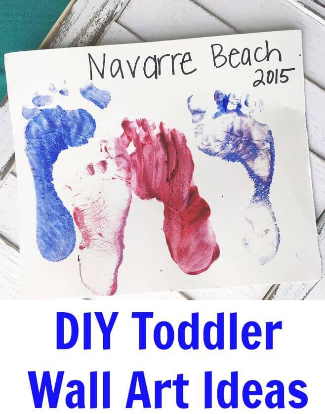 DIY Toddler Wall Art Ideas