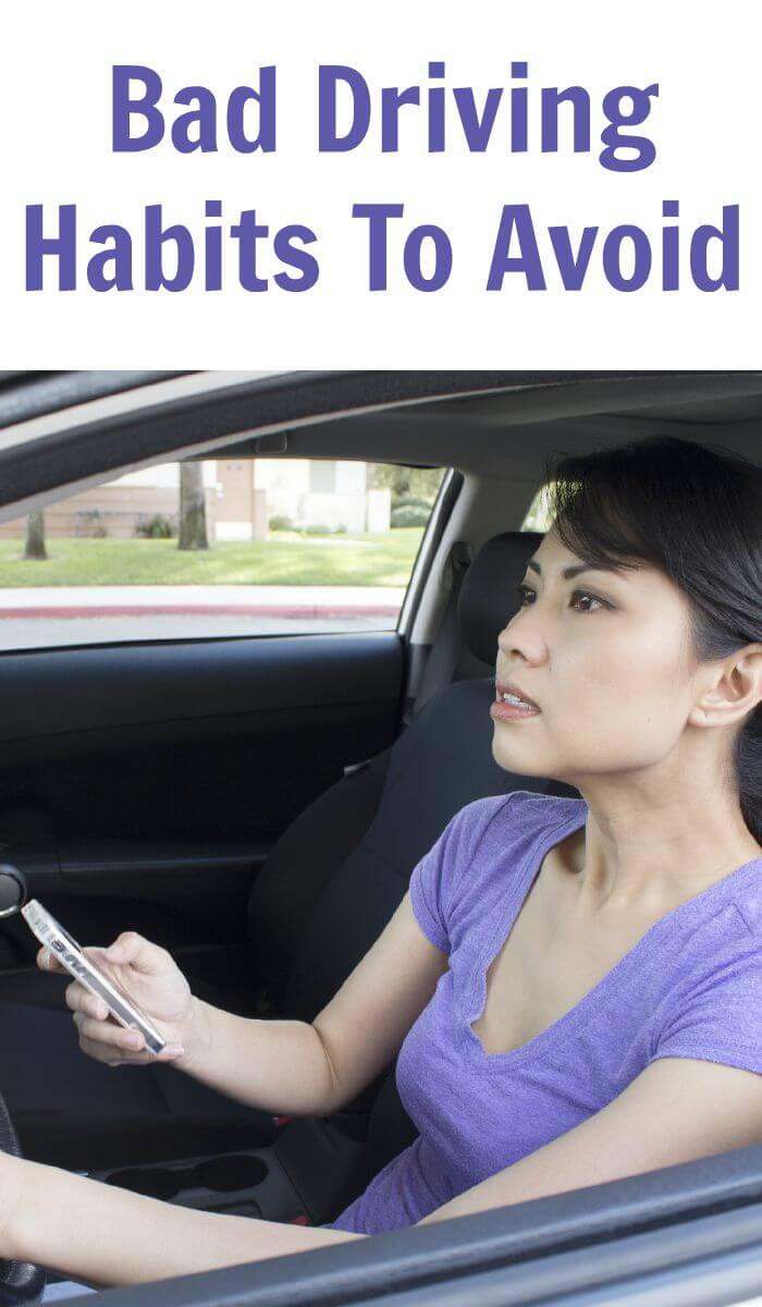 Bad Driving Habits To Avoid