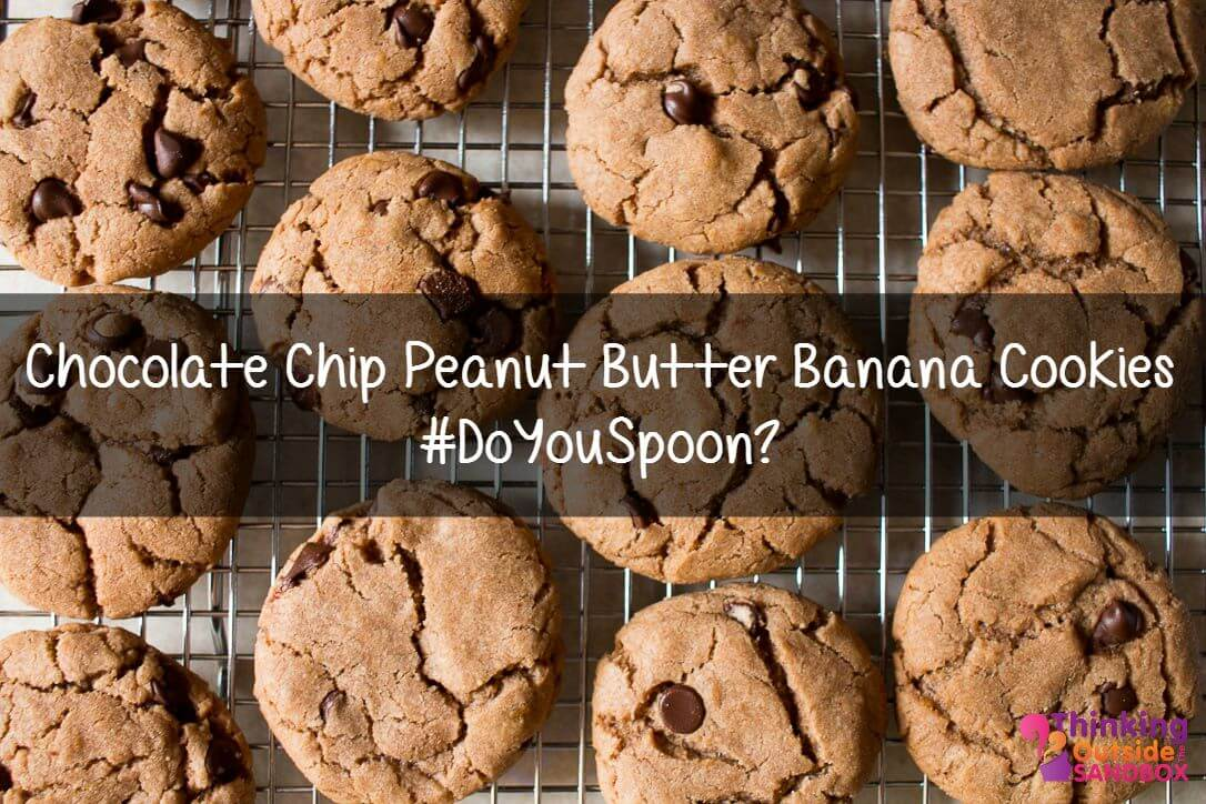Reese Peanut Butter, Chocolate & Banana Cookies