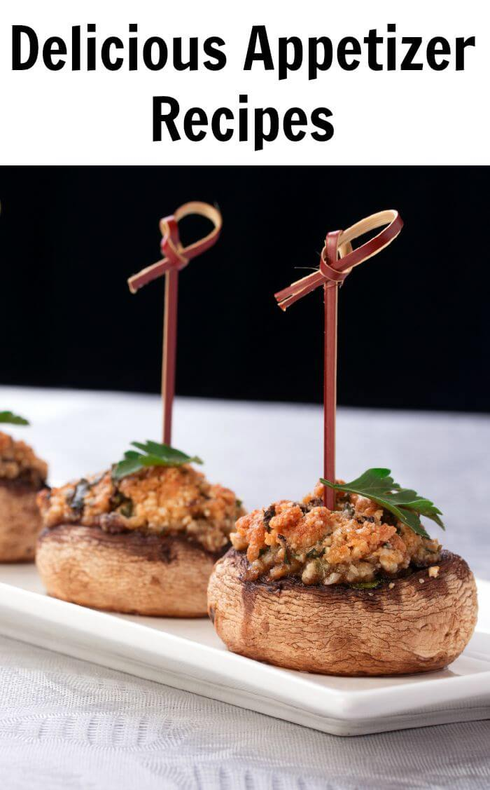 Appetizers are the best part of any party since they are the first things your guests will see upon arrival - Here are some delicious appetizer recipes for your party.