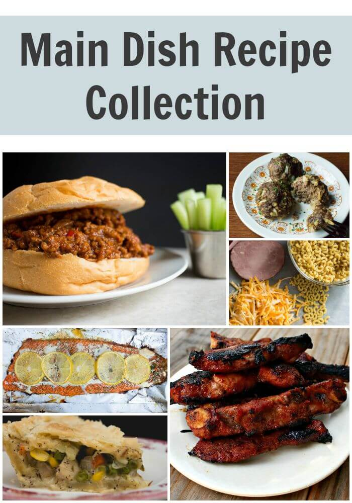 Main Dish Recipe Collection