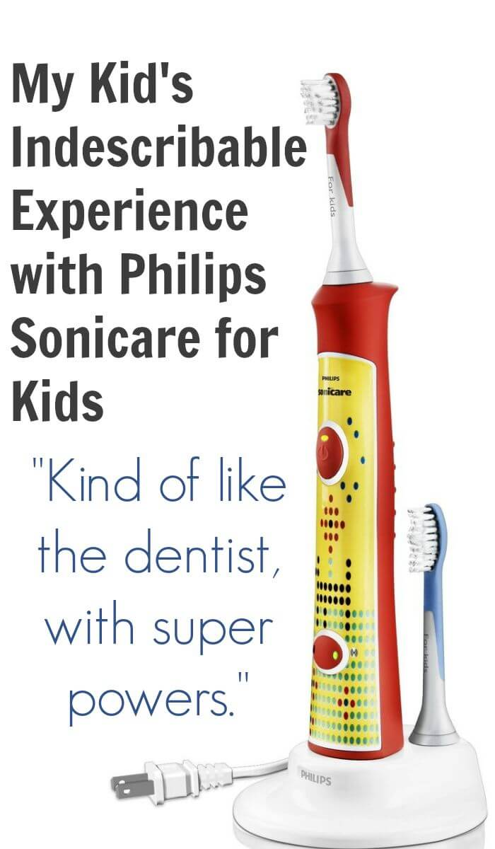 My Kid's Indescribable Experience with Philips Sonicare for Kids