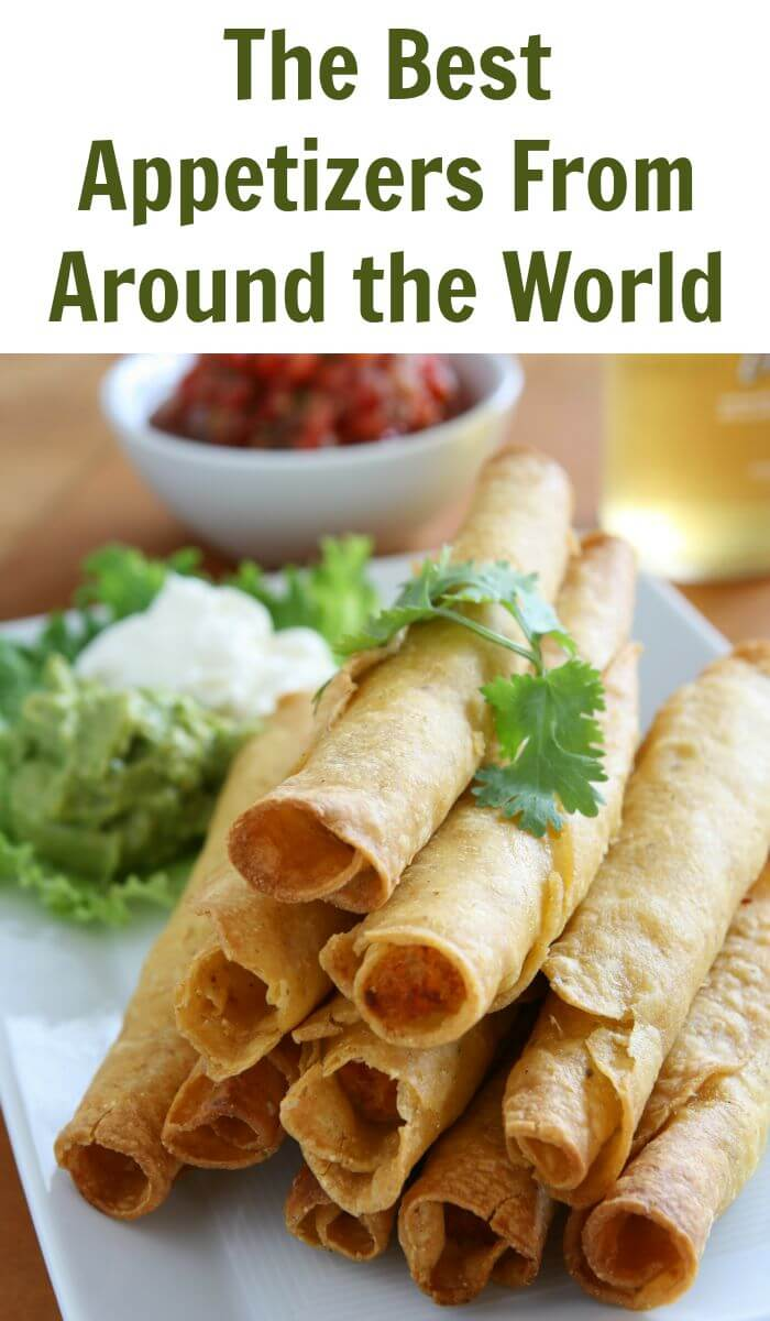 Who doesn't love some appetizers before their main course so let's review some of the best appetizers from around the world.
