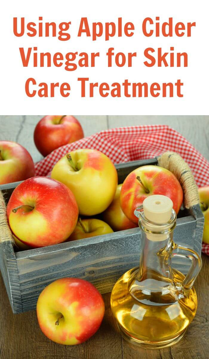 Apple cider vinegar for skin care treatment is highly effective to help your skin feel smoother and look younger.