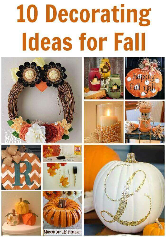 TOTS Family, Parenting, Kids, Food, Crafts, DIY and Travel 10-Decorating-Ideas-for-Fall 10 Decorating Ideas for Fall Crafts Holiday Treats Home TOTS Family Uncategorized  Home Decor home fall crafts fall activities fall decorating crafts craft