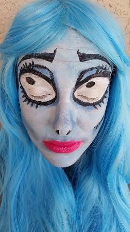 TOTS Family, Parenting, Kids, Food, Crafts, DIY and Travel 3 Emily Corpse Bride Makeup Tutorial Kids Style TOTS Family Uncategorized  makeup halloween diy costume