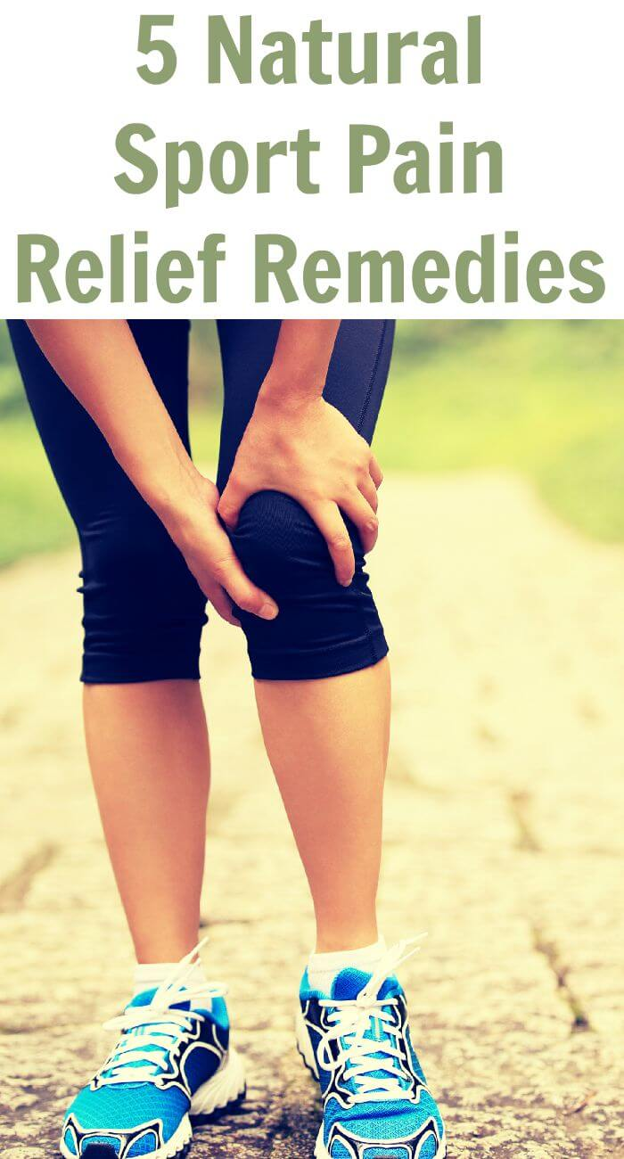 5 Natural Sport Pain Relief Remedies