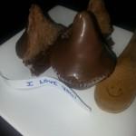 Hershey Kiss Inspired Cupcakes Recipe