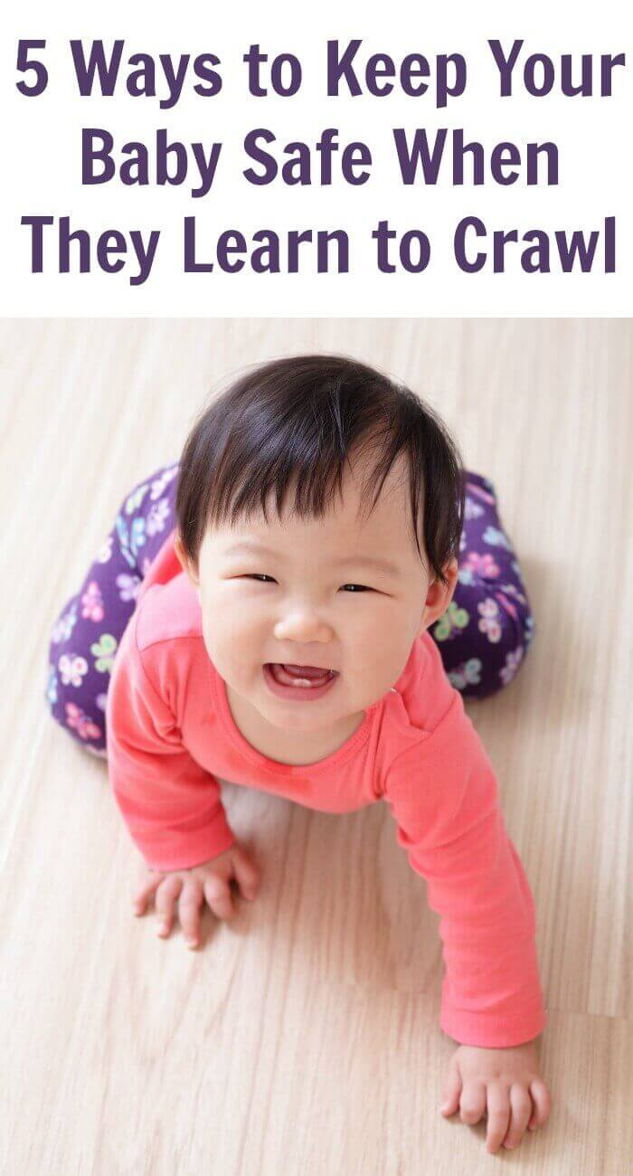 5 Ways to Keep Your Baby Safe When They Learn to Crawl
