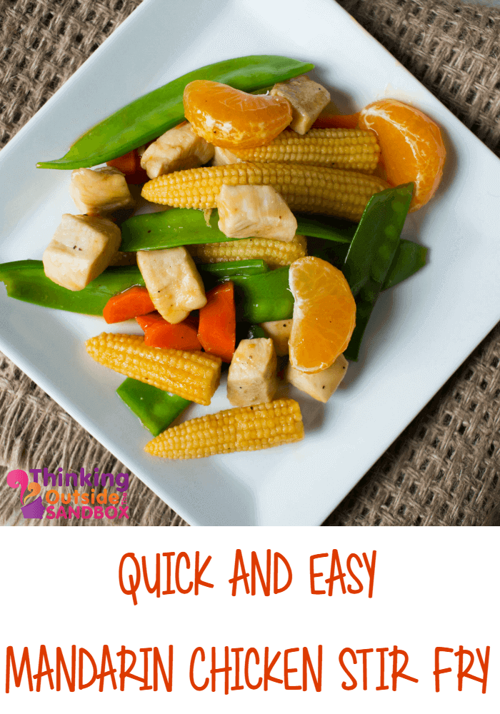 Quick and Easy Mandarin Chicken Stir Fry