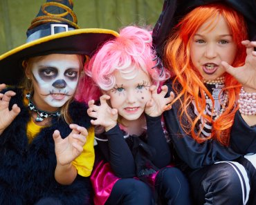 Trick-or-Treating With Toddlers