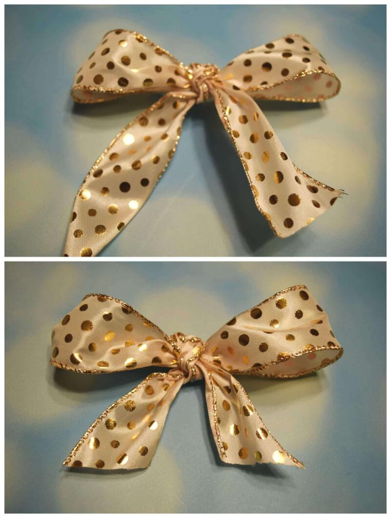 Amazing Make An Easy Diy Holiday Hair Bow Short Hairstyles Gunalazisus