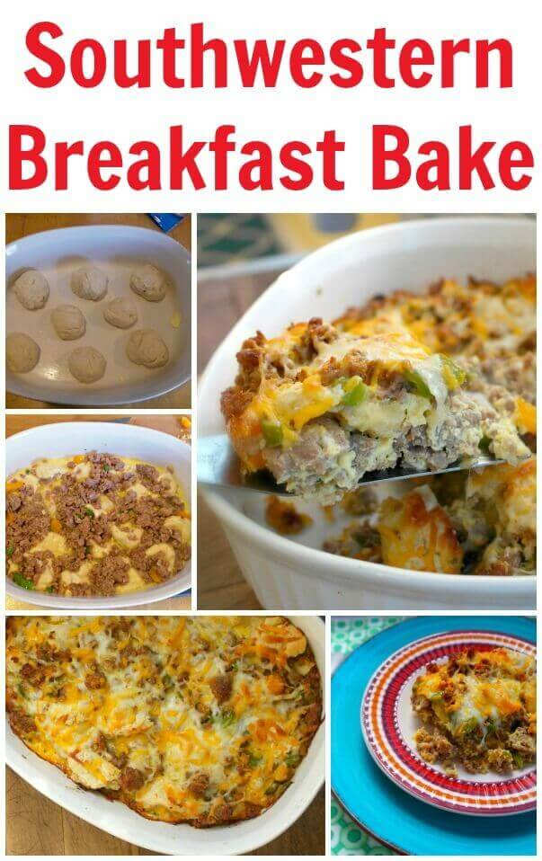 TOTS Family, Parenting, Kids, Food, Crafts, DIY and Travel Southwestern-Breakfast-Bake Southwestern Breakfast Bake Breakfast Food Main Dish TOTS Family  recipe food breakfast