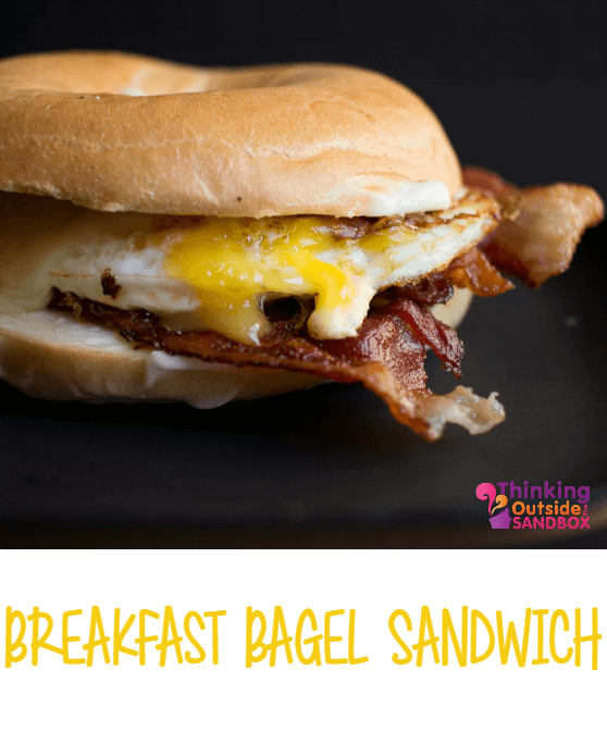 Breakfast Bagel Sandwich