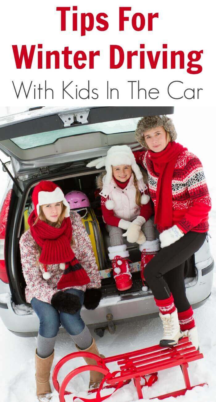 Tips For Winter Driving With Kids In The Car