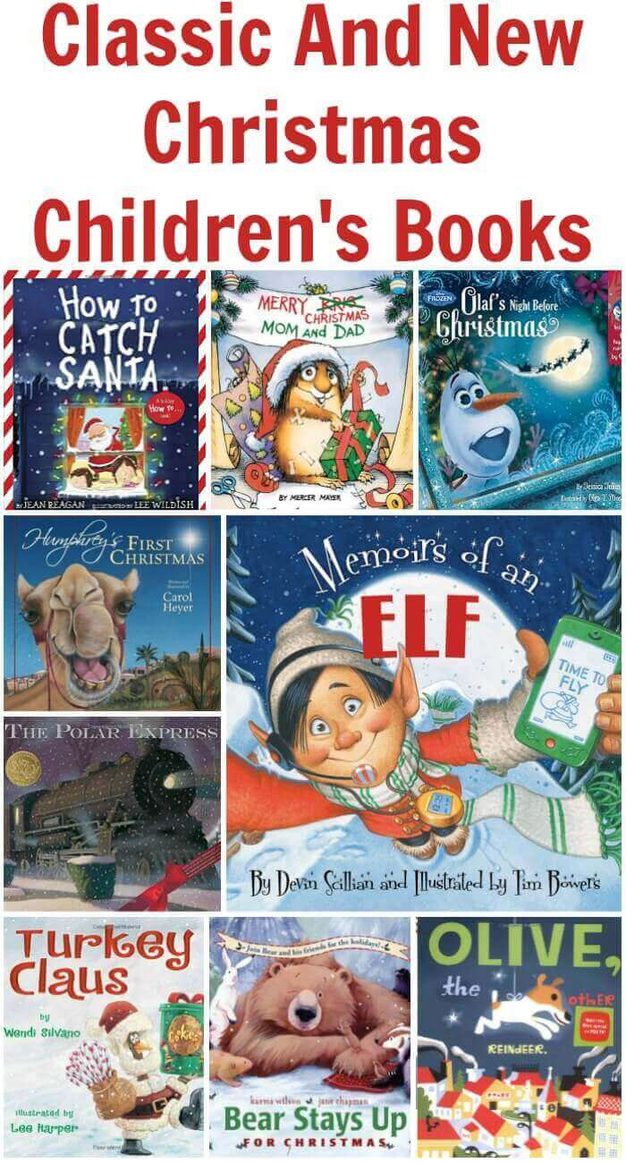 TOTS Family, Parenting, Kids, Food, Crafts, DIY and Travel Classic-And-New-Christmas-Childrens-Books- Classic and New Christmas Children's Books Gift Guide Kids TOTS Family  kids gift guide christmas books