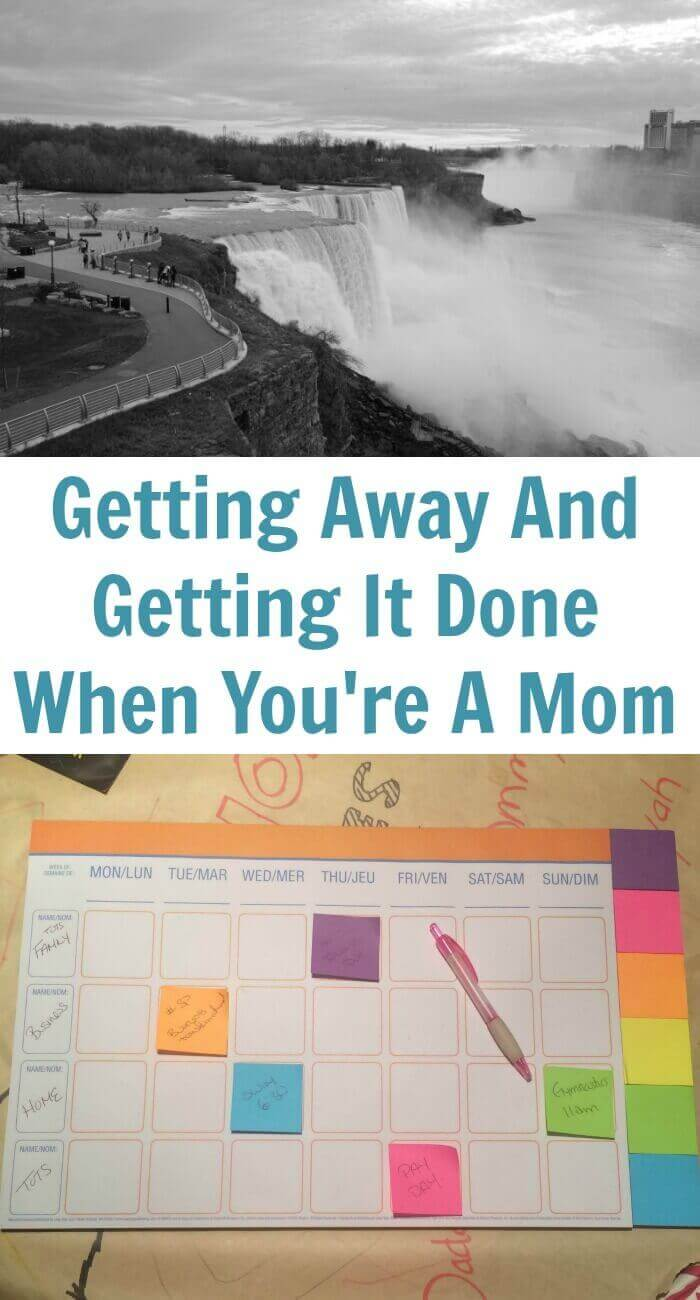 Getting Away And Getting It Done When You're A Mom
