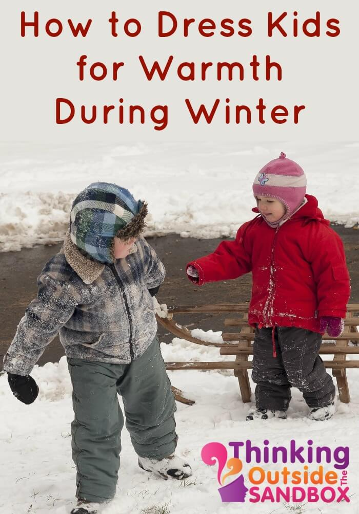 As the weather turns cooler, it's important to think about how to dress kids for warmth. After all, kids want to play outside, no matter how cold it gets!