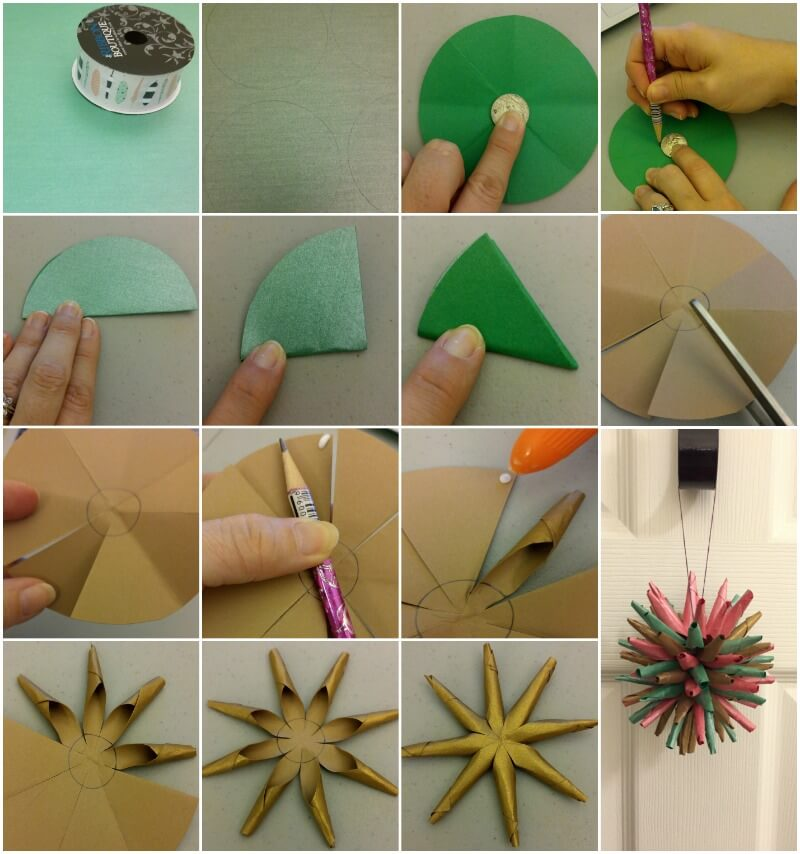 Diy Polish Star Christmas Ornament