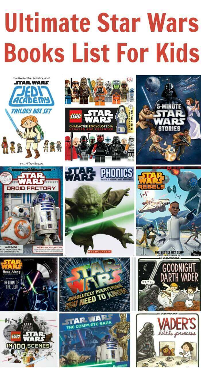 TOTS Family, Parenting, Kids, Food, Crafts, DIY and Travel Ultimate-Star-Wars-Books-List-For-Kids Ultimate Star Wars Books List For Kids Gift Guide Kids TOTS Family  star wars books
