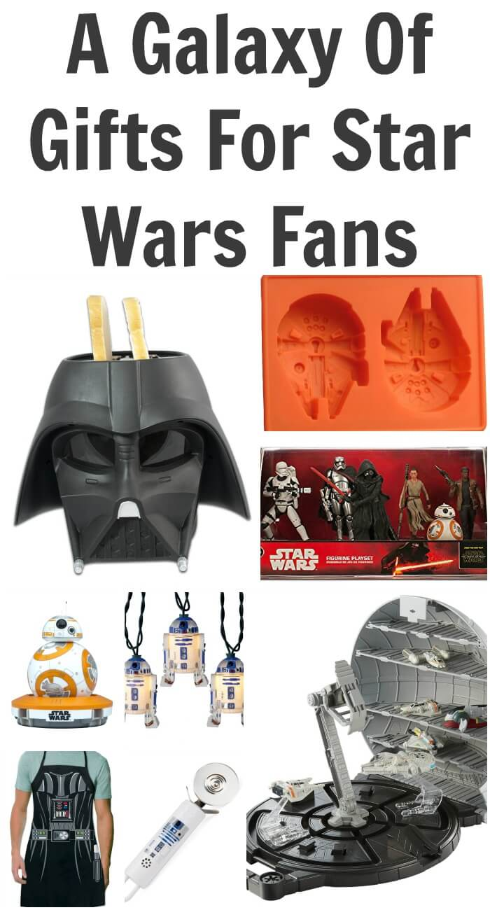 A Galaxy Of Gifts For Star Wars Fans - 60 Gift Ideas