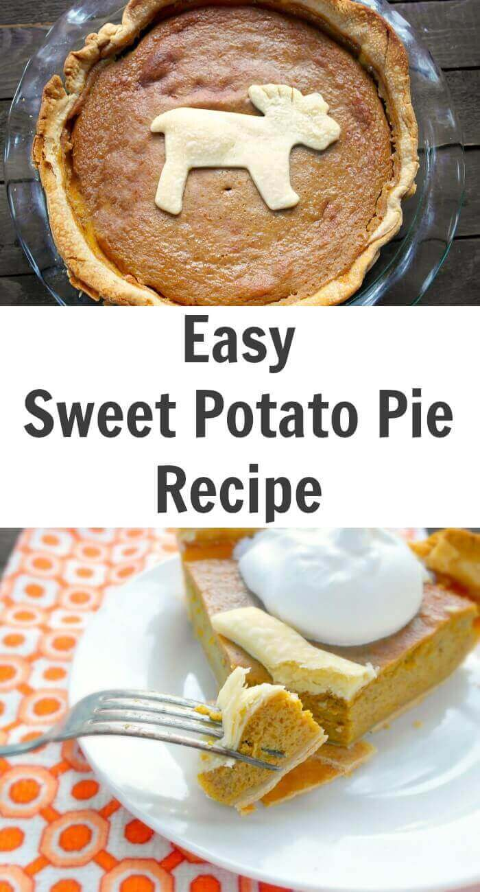 We live in Southern Ontario, Canada where this Easy Sweet Potato Pie Recipe is not a staple at our holiday dinners. I decided to give it a go and I cannot believe how easy it was.