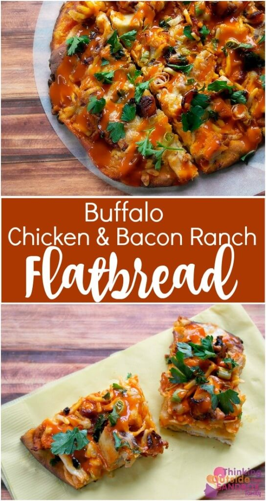 TOTS Family, Parenting, Kids, Food, Crafts, DIY and Travel flatbread-pin-544x1024 Buffalo Chicken Bacon Ranch Flatbread Pizza Appetizers Food Main Dish TOTS Family  recipe pizza homemade pizza flatbread