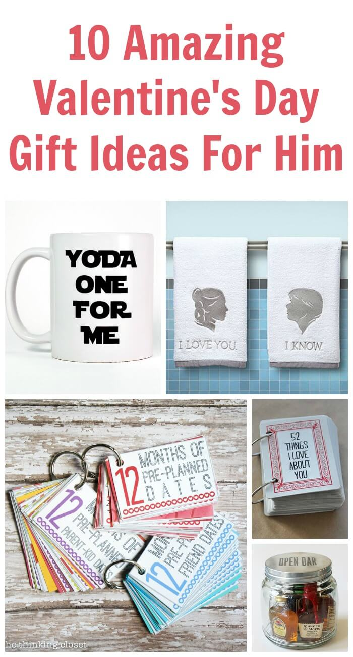 10 amazing valentine 39 s day gift ideas for him tots for Small valentines gifts for him