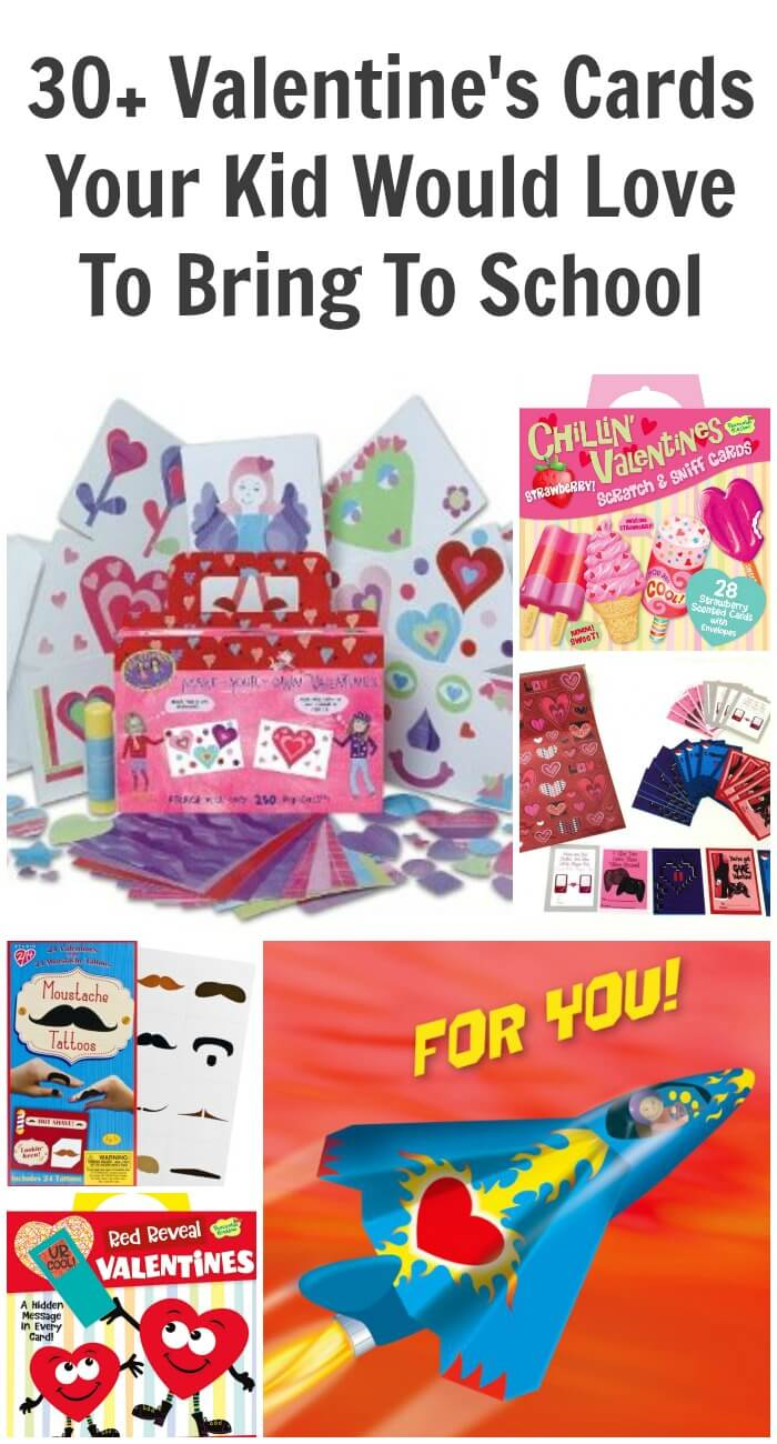 30+ Valentine's Cards Your Kid Would Love To Bring To School